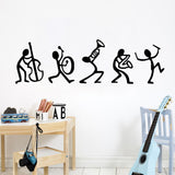 OnDecal Stick Figure Band