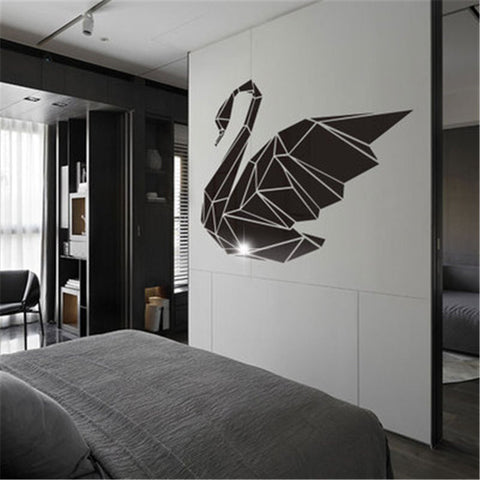 OnDecal 3D Acrylic Swan Decal