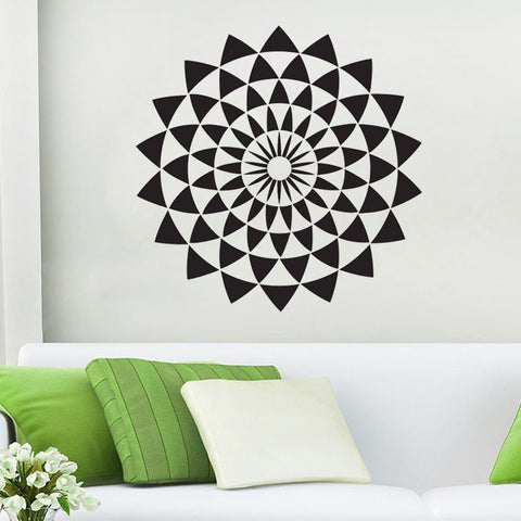 OnDecal Geometric Illusion Wall Decal