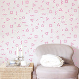 OnDecal Geometric Line Dots Waves Semi Circles Wall Decals