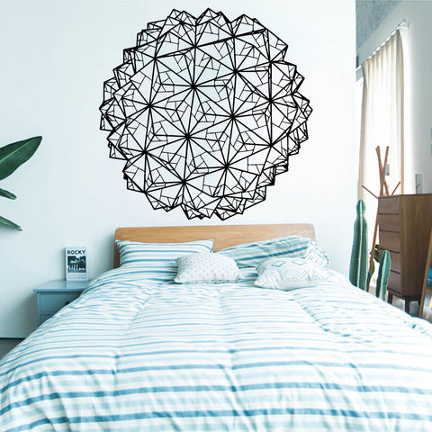 OnDecal Geometric Origami Wall Decal