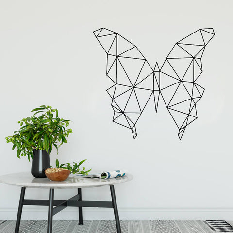OnDecal Geometric Butterfly Wall Decal