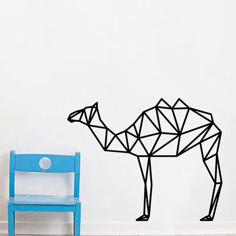 OnDecal Geometric Camel Wall Decal
