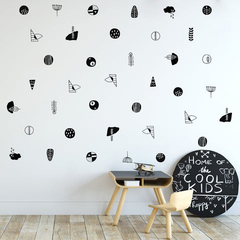 OnDecal Modern Nordic Style Wall Decals