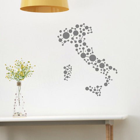 OnDecal Italy Country Circles Geometric Wall Decal