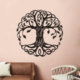 OnDecal Mandala Circle Tree Wall Decal