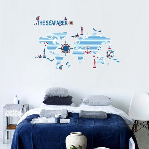 OnDecal The Seafarer World Map