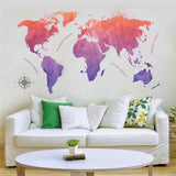 OnDecal Colorful World Map
