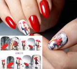 OnDecal Beautiful Romantic Nail Decal