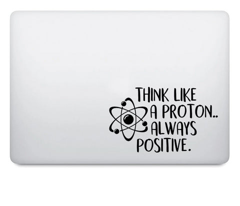 OnDecal Think Inspired Proverbs Laptop Decal