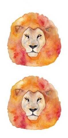 OnDecal Majestic Lion Temporary Tattoo