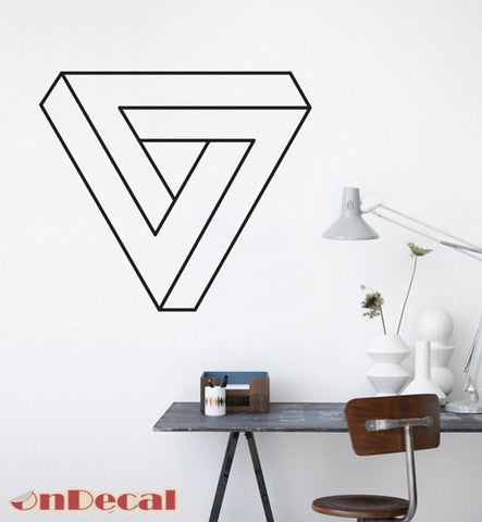 OnDecal Geometric triangle