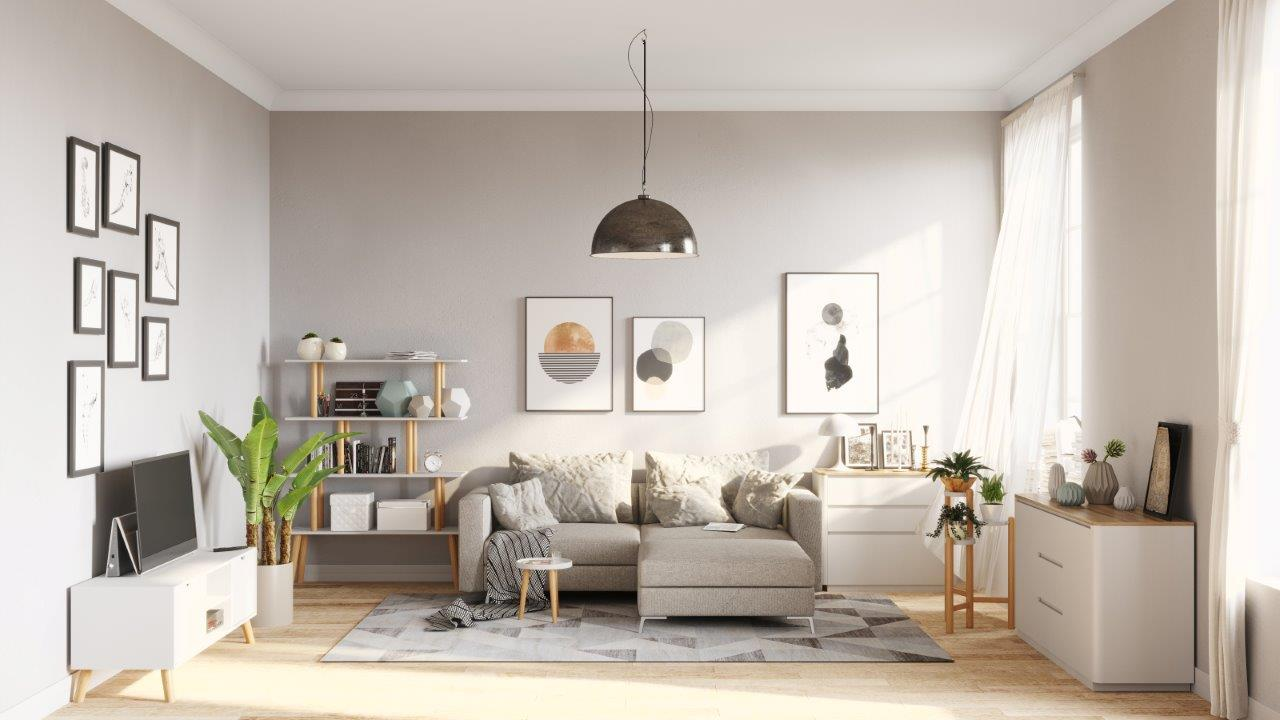 modern living | with scandi style