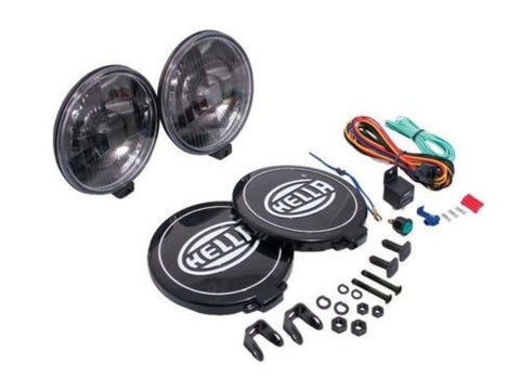 Genuine Hella 500 Black Magic Driving Light Kit For 4x4, Suv