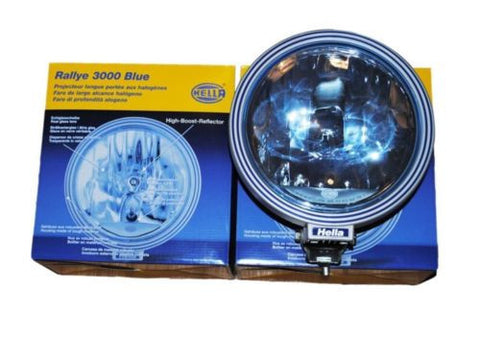 3000 Blue Driving Spot/Fog Lamp With Side Light Fits Truck,Bus, Jeep, SUV, 4x4 Rally Car