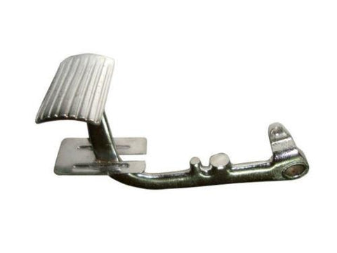 New Rear Brake Pedal With Silver Finish Fits All Models Of Lambretta Scooters available at Online at Royal Spares