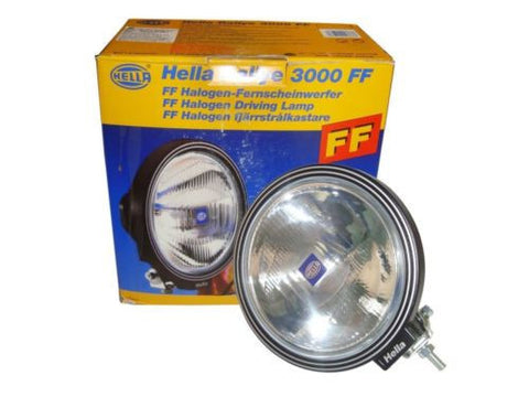 Genuine Hella Rallye 3000 FF Driving Spot Lamp For 4x4,Car,Truck,Jeep,Van,Suv