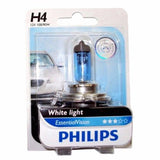 Philips Essential Vision H4 Bulb 12 Volt 90/100 Watts White Light P43T-38