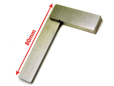 "2"" Inch Engineers Polished Steel 50mm Set Square - Tools"