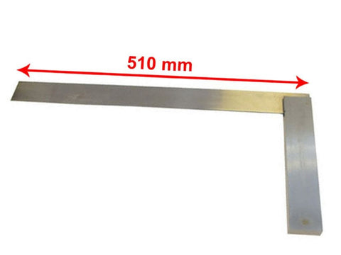 450mm 18 Inch Engineers Set Square 90 - Steel Blade