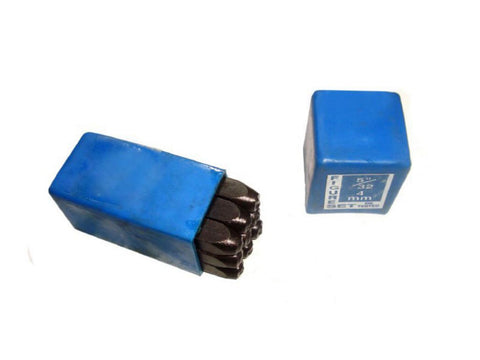 "Good Quality 4.0mm Set Of Number Punches 5/32"" Tools & Parts available at Online at Royal Spares"
