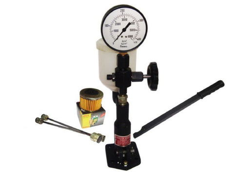 Diesel Injector Nozzle Pop Pressure Tester Dual Scale 0-420/ 0-6000 available at Online at Royal Spares