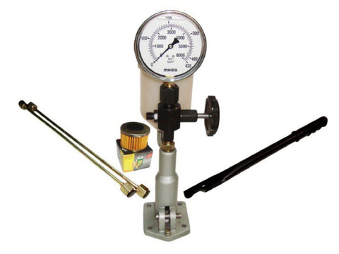 Diesel Injector Tester Dual Scale Glycerin Filled Gauge  available at Online at Royal Spares