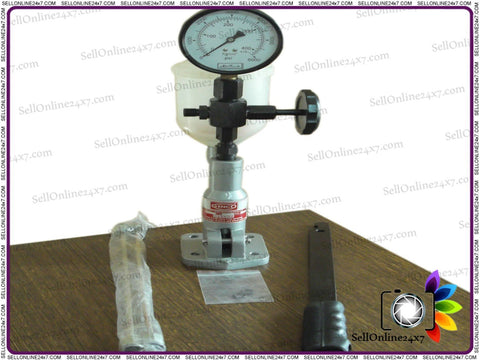 Diesel Injector Nozzle Tester-Pop Pressure Tester, Dual Scale BAR / PSI Gauge available at Online at Royal Spares