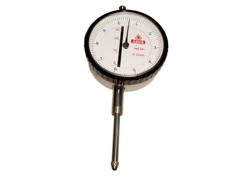 Adis Dial Gauge M10c - Reading: 0.1mm - Range: 30mm Dial Indicator Control Rack available at Online at Royal Spares
