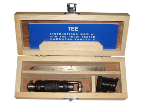 Portable Brinell Hardness Tester - Poldi Hammer Type Hardness Tester available at Online at Royal Spares