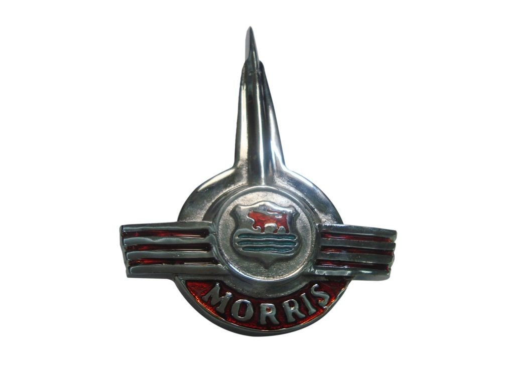 Vintage Classic Morris Bonnet Badge Car Badges