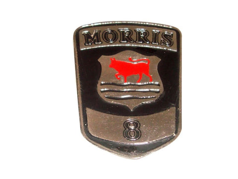 Vintage Morris 8 Eight Car Radiator Grill Badge Enamel Fits Vintage Morris 8 Cars available at