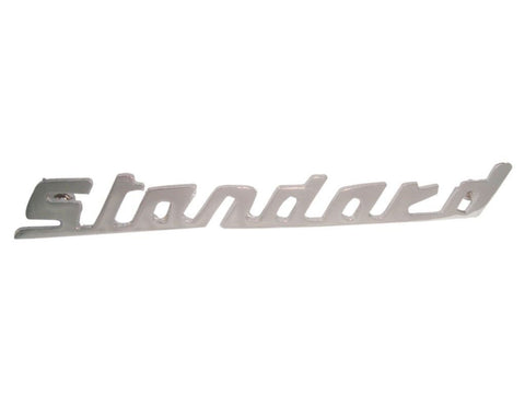 Vintage Standard Triumph Boot Badge Chrome Finish Decal Brand New available at