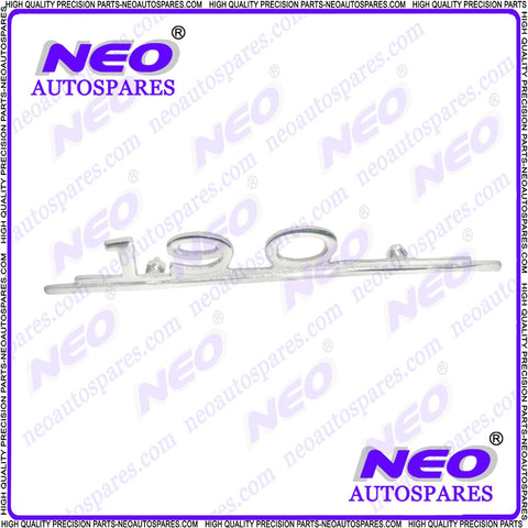 Brand New Mercedes 190 Script Badge - Cars