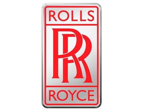 Radiator Badge Rolls Royce Red Medium 49 x 29 mm-16G Auction Deal