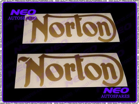 Buy Pair Of Cut Text Stickers For Vintage Norton Commando/16h/ES2 Motorcycles sales@classicspareparts, Wholesale Prices--Worldwide Free Delivery