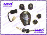 Classic Complete Lock Kit With Keys Fits Royal Enfield available at Online at Royal Spares