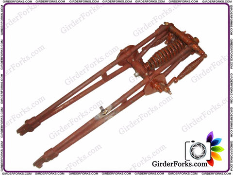 Brand New Complete Girder Fork Assembly Fits For Royal Enfield available at Online at Royal Spares