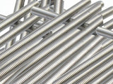 Stainless Steel 304 Fully Lot of 5 Pieces A2 Threaded Rod/Bar/Studs -M4 x 300mm