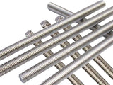 "A2 Stainless Steel 304 - M10 x 36"" Fully Threaded Rod/Bar/Studs"