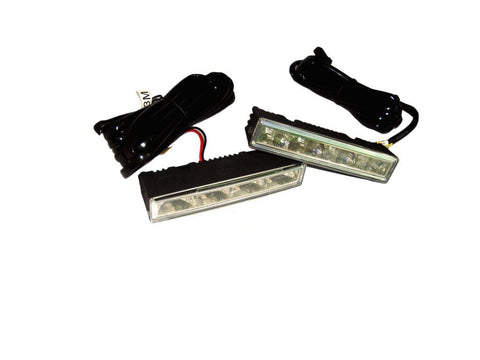 2x Ledayline 4-Universal Daytime Running Light 12v Led DRL Safety Kit