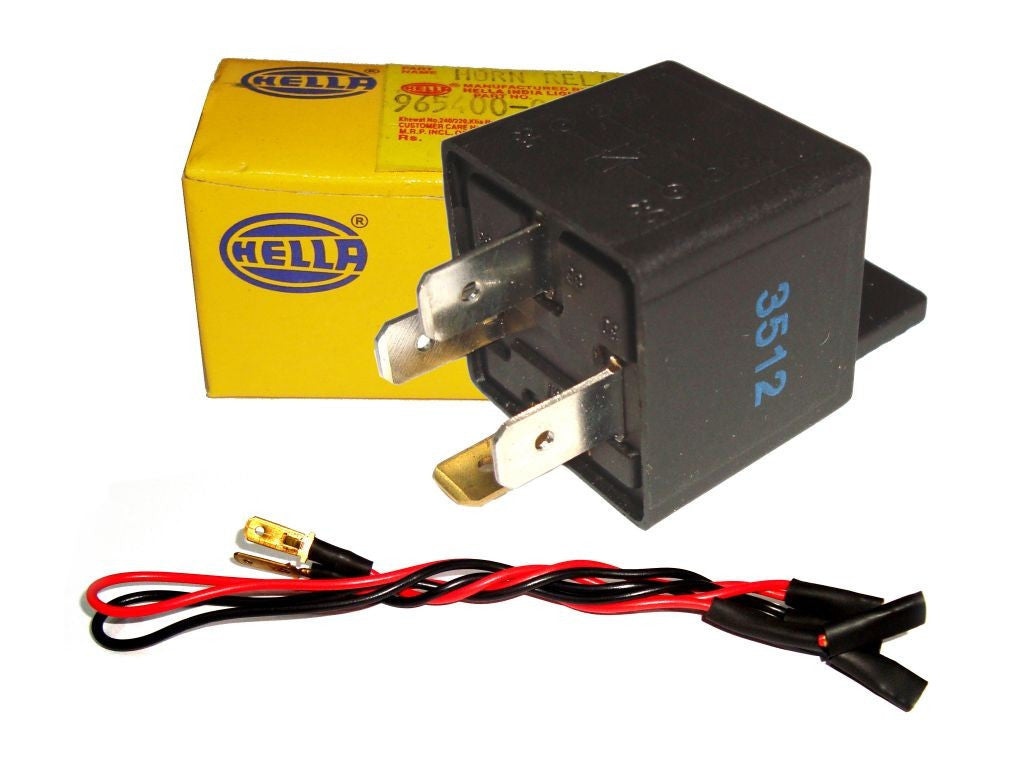 Wondrous Hi Quality Hella 12V Relay Horn Wiring Harness Royal Spares Wiring Cloud Staixuggs Outletorg