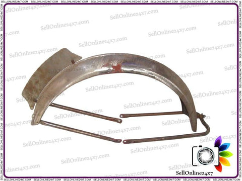 Custom Made Ariel Style Front Mudguard With Number Plate Fits Royal Enfield 500cc Motorcycle