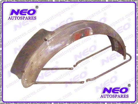 Norton 16h Style Front Mudguard With Number Plate Fits Royal Enfield 500cc Motorcycle
