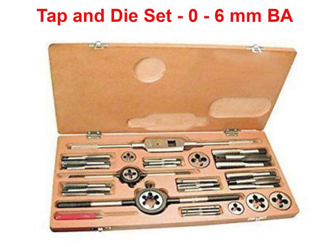 Brand New Tap and Die Set For 0 - 6 mm BA