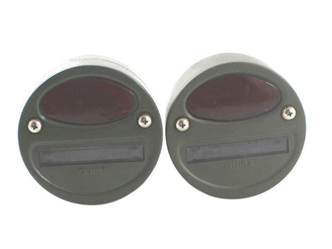Brand New Willys MB Ford Gpw Jeep Truck Military Cat Eye Rear Tail Light 4'' Pair