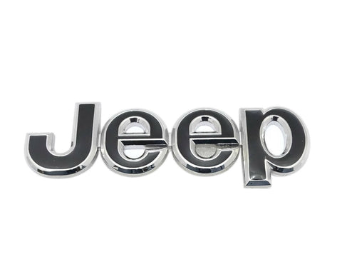 Hi Quality Jeep Chrome Black Badge Front Or Rear