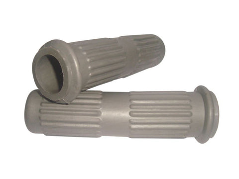New Quality Grey Standard Handle Bar Grips Fits Early Lambretta GP/LI/TV/SX Models available at Online at Royal Spares