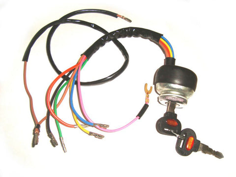 Brand New DC Ignition Switch With Stamped Key Fits Lambretta GP Models available at Online at Royal Spares
