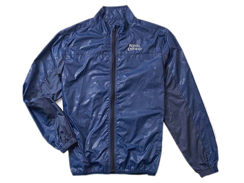 Genuine Royal Enfield All Time Windcheater Camo Jacket Blue